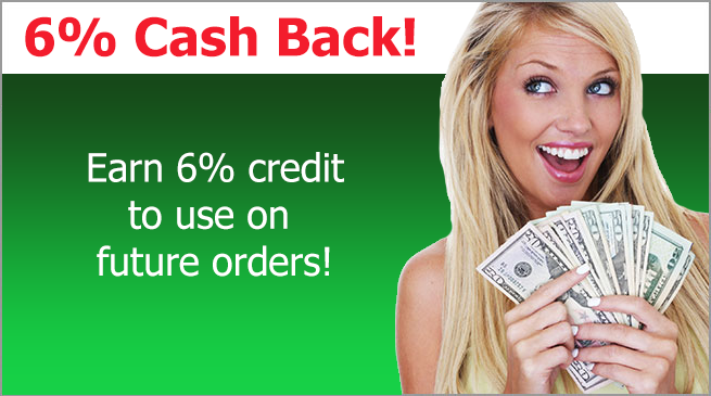 Learn how to earn 6% cash back by becoming an affiliate
