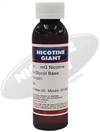 250 ml of 60 mg Flavorless Nicotine Liquid