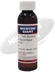 Cheap nicotine liquid - 60 MG