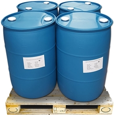 4 - 55 US Gallon Drums of USP Kosher Certified Propylene Glycol