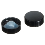 120 ml Black Phenolic Polyseal Caps