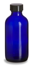 120ml Cobalt Blue Glass Bottle