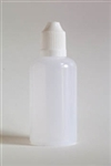 50 ml LDPE Cylinder Bottle With Childproof Cap