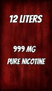 Cheap nicotine liquid - 999 MG